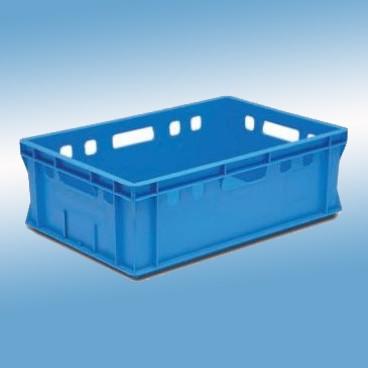 Metzgerei-Gebinde, blau |600 x 400 x 200 mm