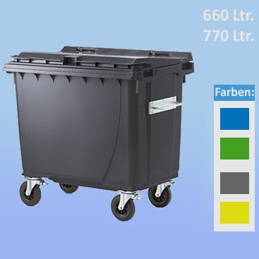 Roll-Container 660 / 770 Liter