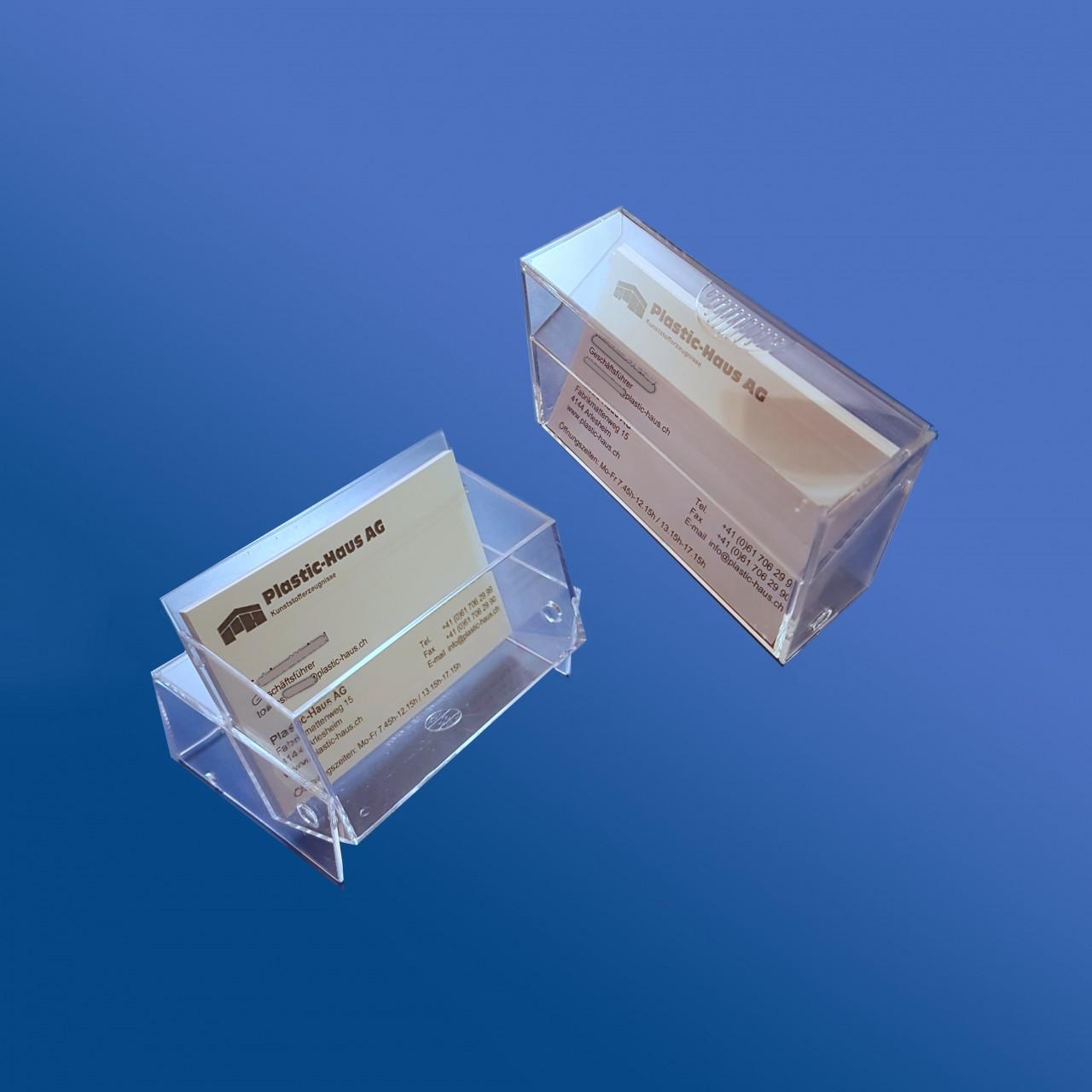 Visitenkarten-Box  86 x 56 x 27 mm