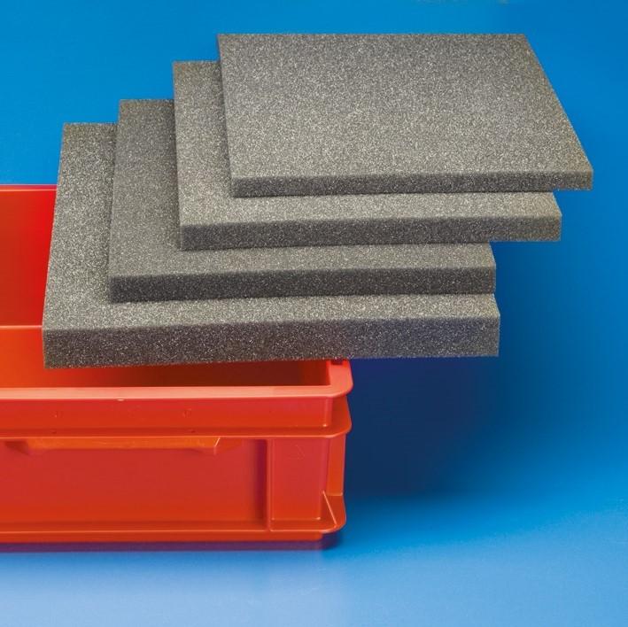 Schaumstoff-Einlagen |zu Behälter 600 x 400 mm