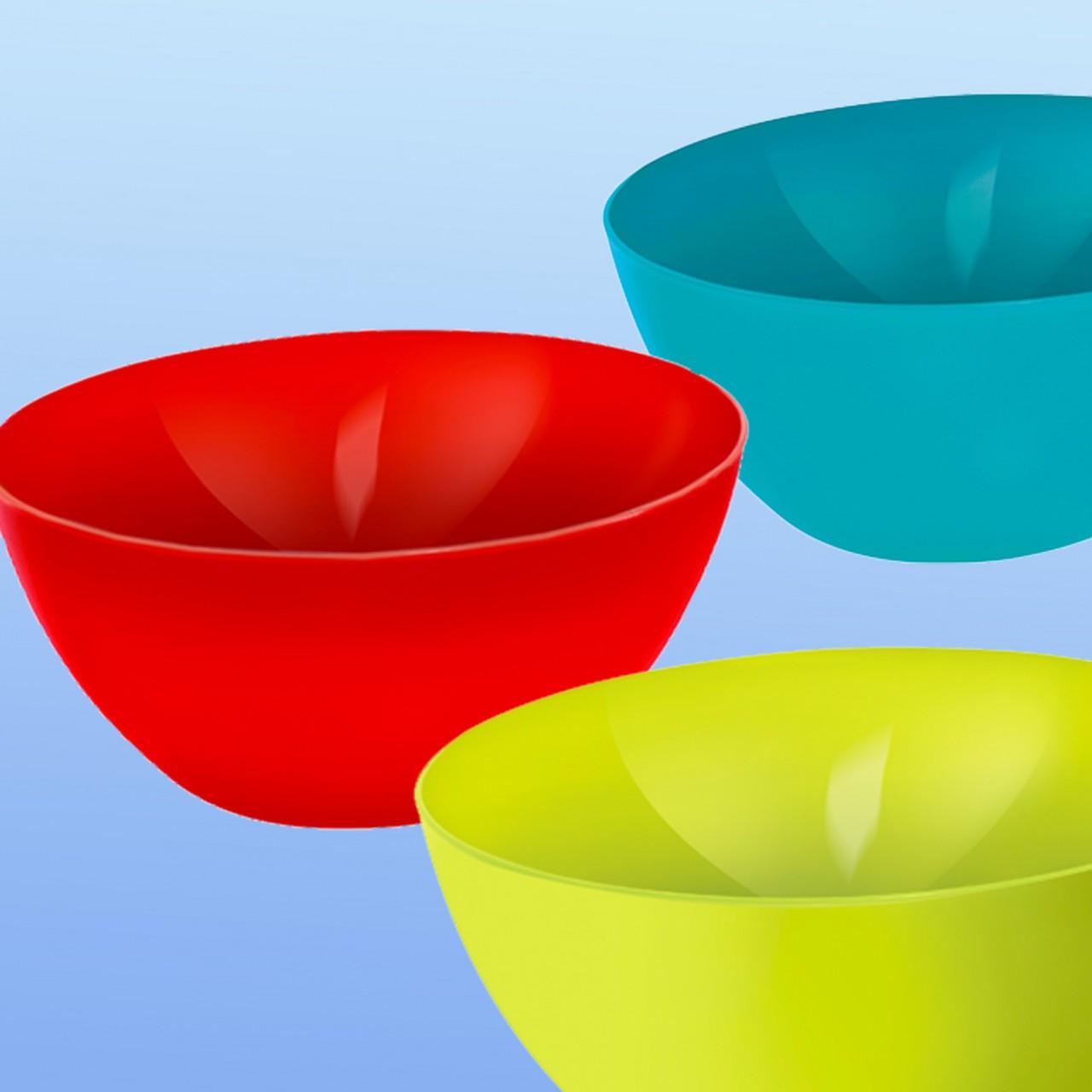 Schüssel farbig |8 Liter, rund