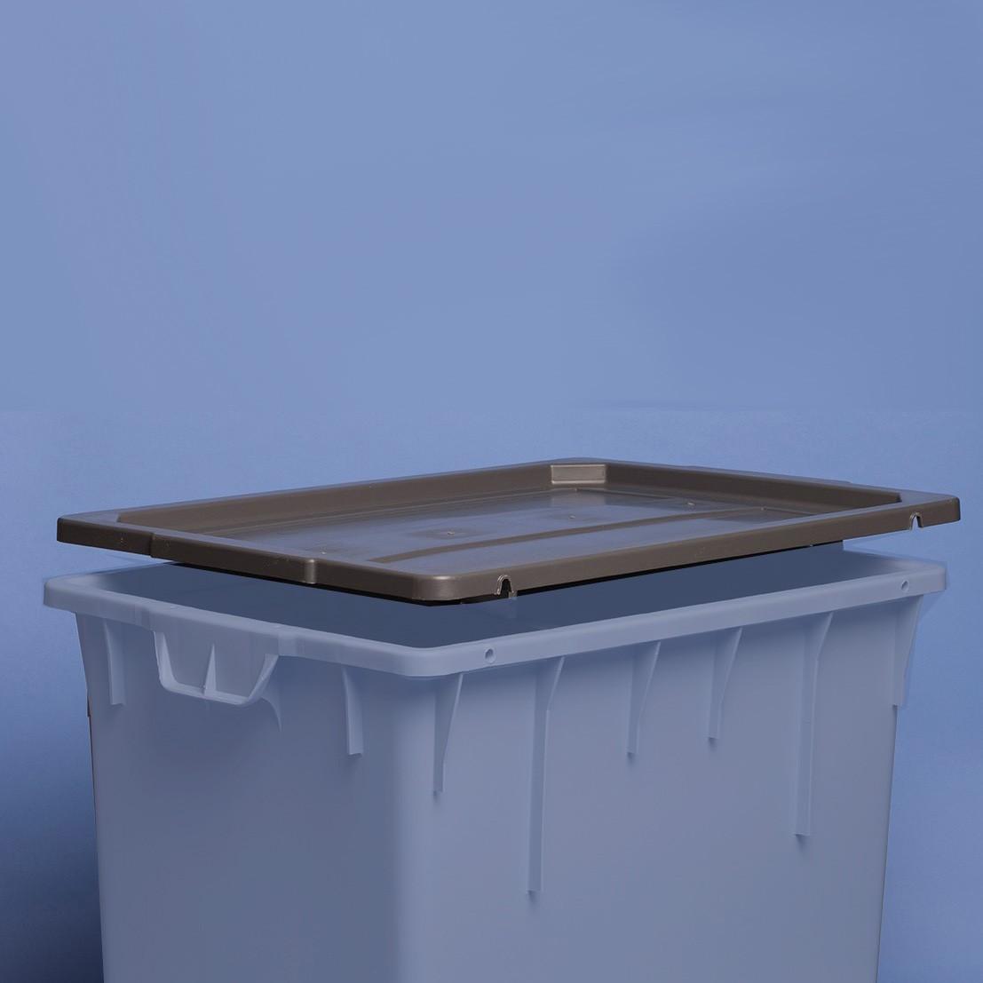 Auflage-Deckel 800 x 600 mm  zu Behälter Standard & MAMMUT