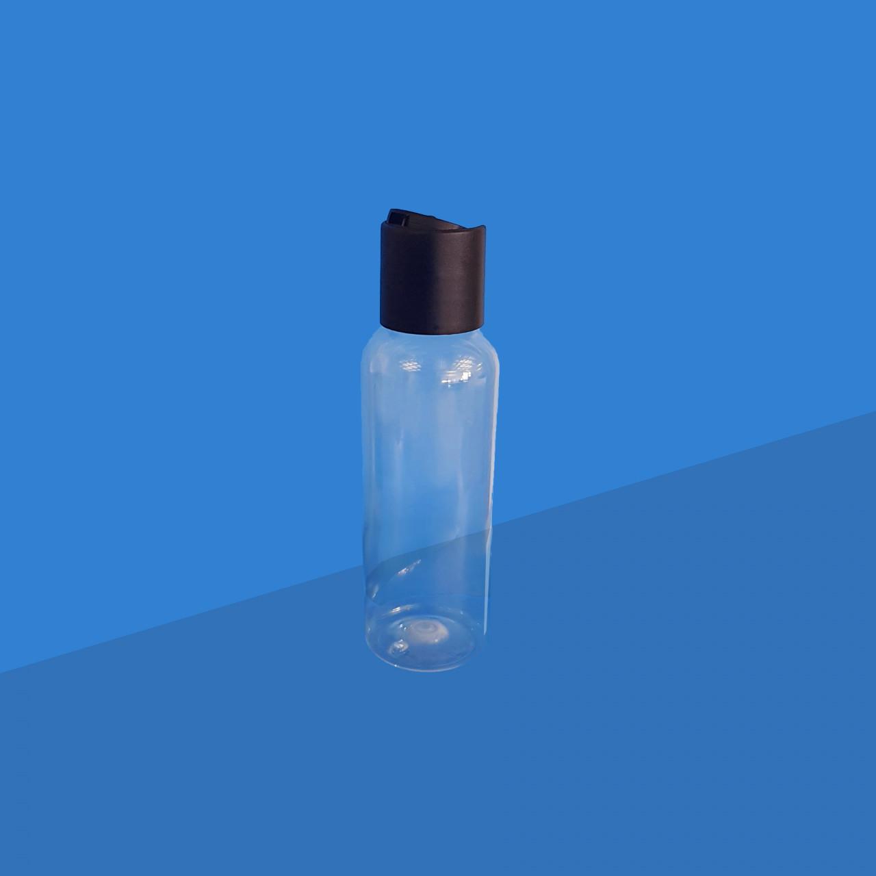 Rundflasche 100 ml |mit Disctop-Verschluss