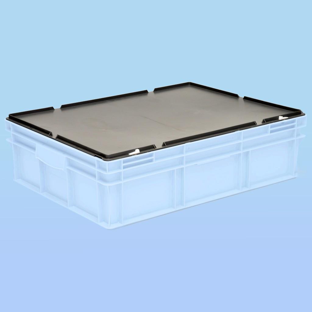 Deckel zu Rako-Behälter |800 x 600 mm, dunkelgrau