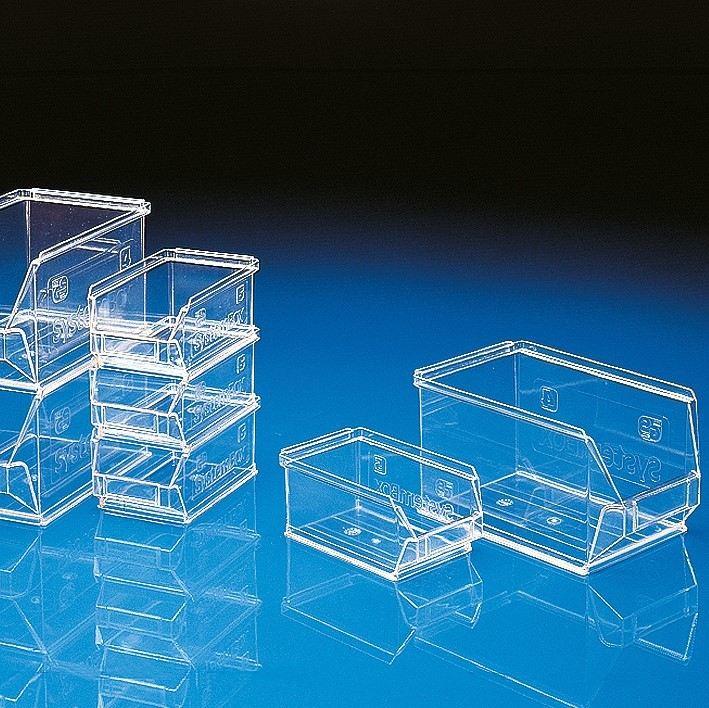 Systemboxen SB 4 / SB 5 |aus ABS, transparent