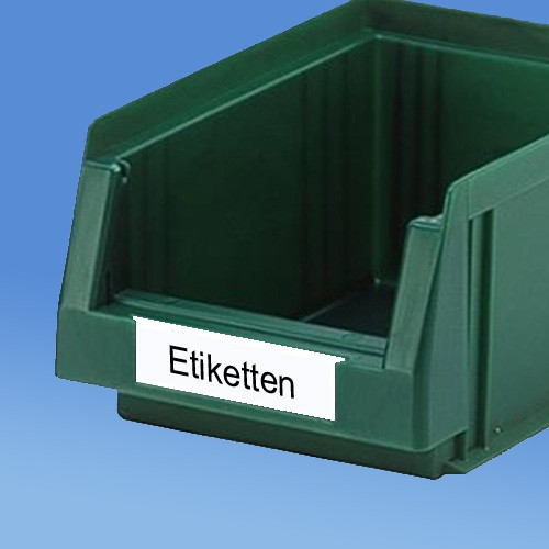 Beschriftungsetiketten |zu Systemboxen