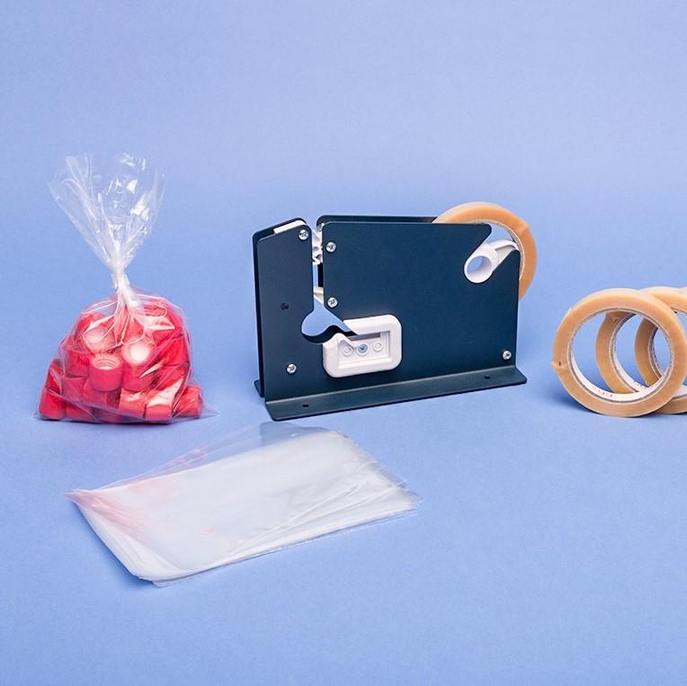 Beutel Verschlussgerät & |PVC-Klebeband