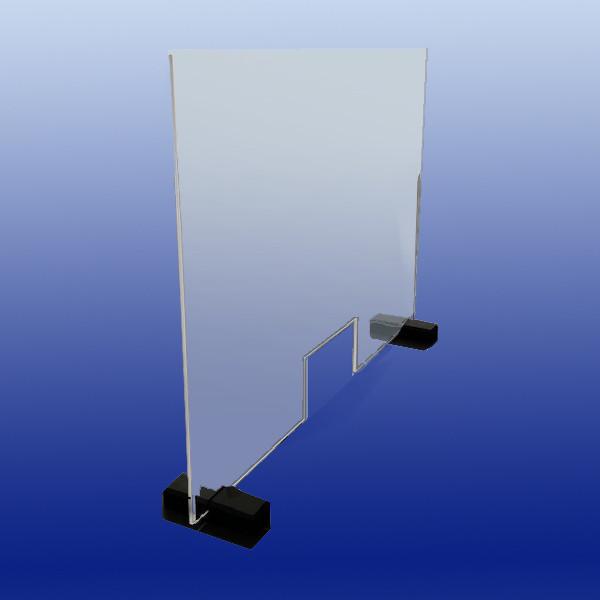 Schutzscheibe (Spuckschutz) |750 x 1000 x 6 mm