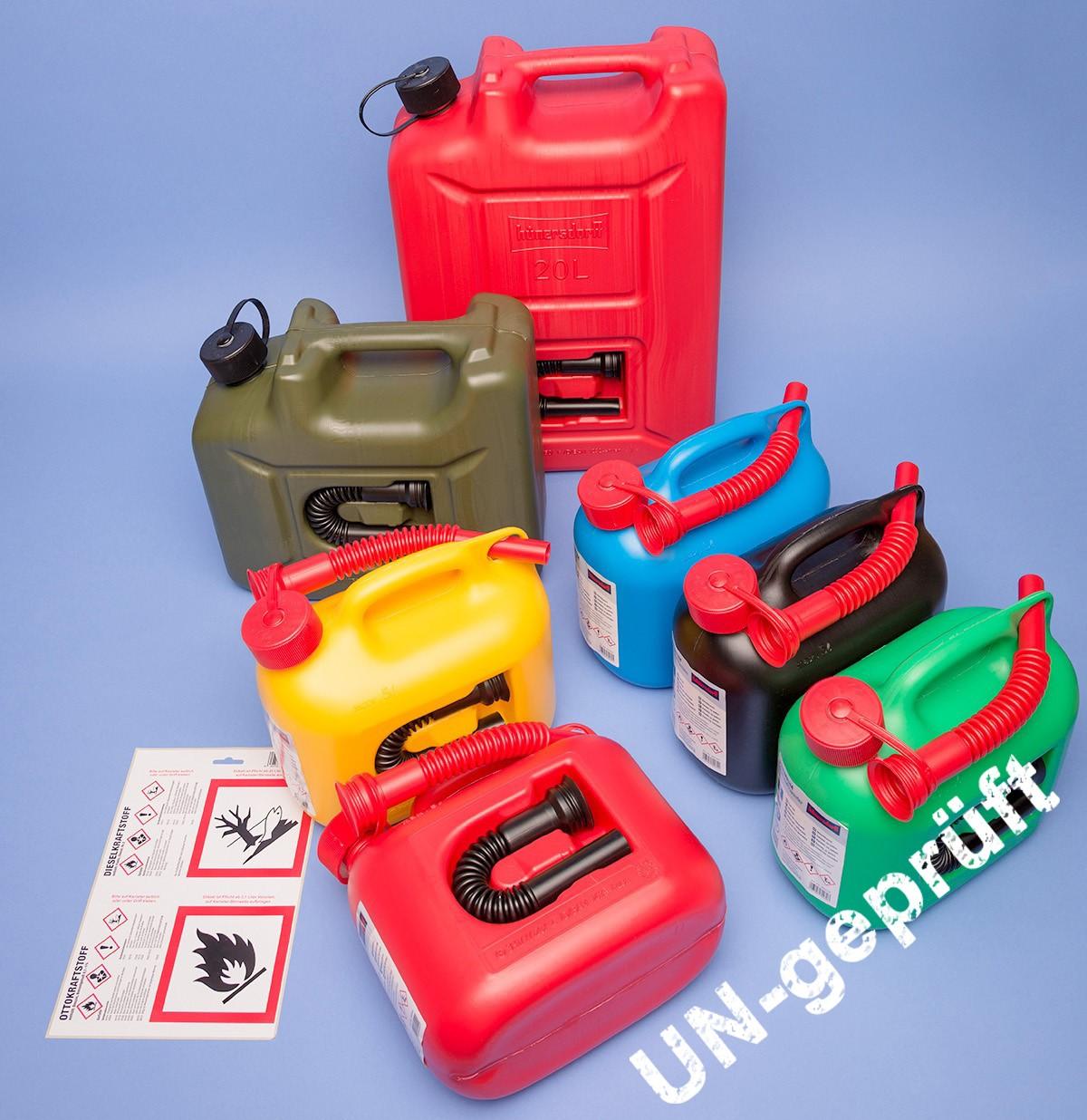 Kraftstoff-Kanister Premium |UN-Zulassung