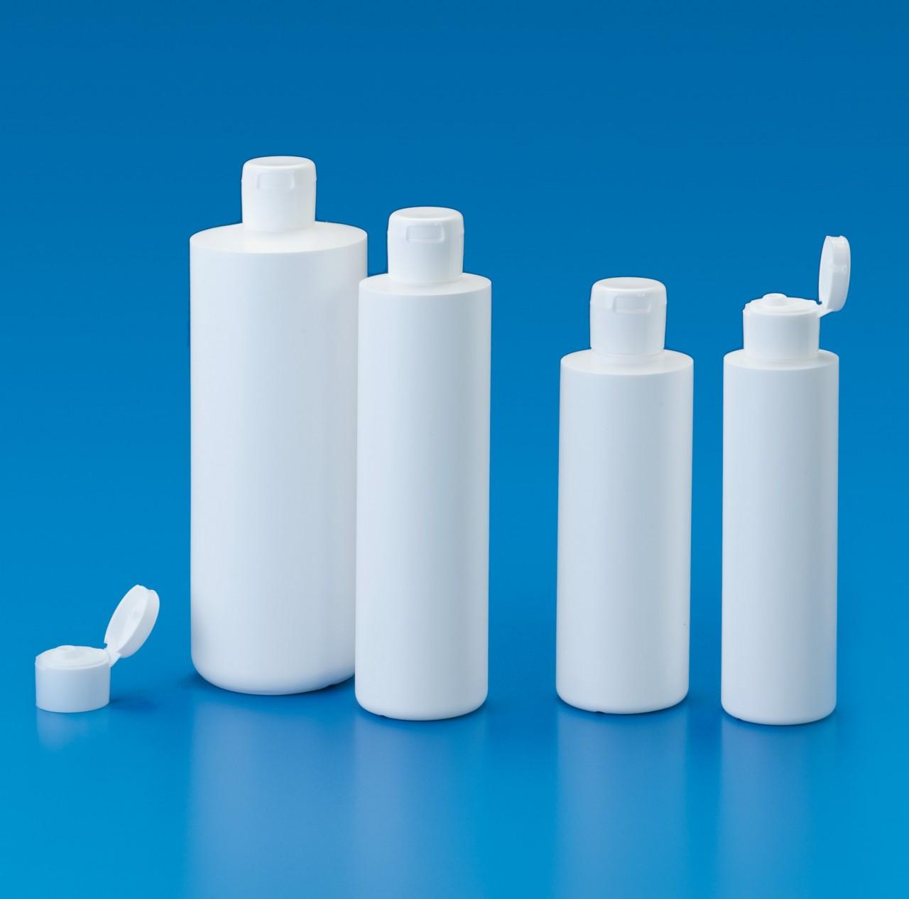 Rundflaschen NEW LINE  mit Klappscharnier-Verschluss
