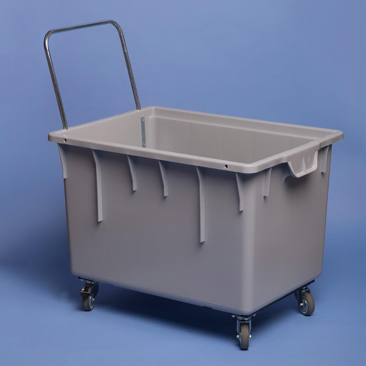 Behälter mit Rollen & Bügel|800 x 600 x 610 mm