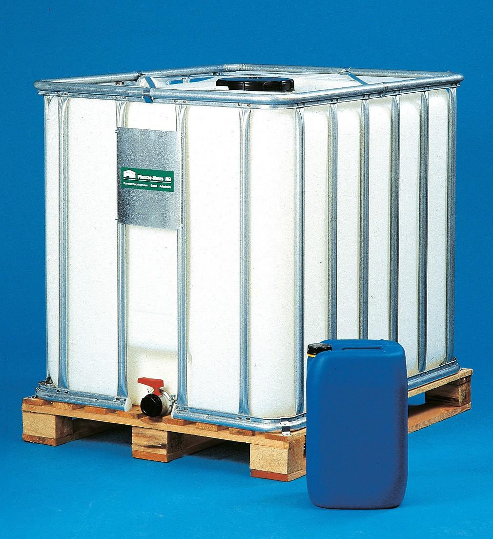 Paletten-Container (IBC) |auf Holzpalette