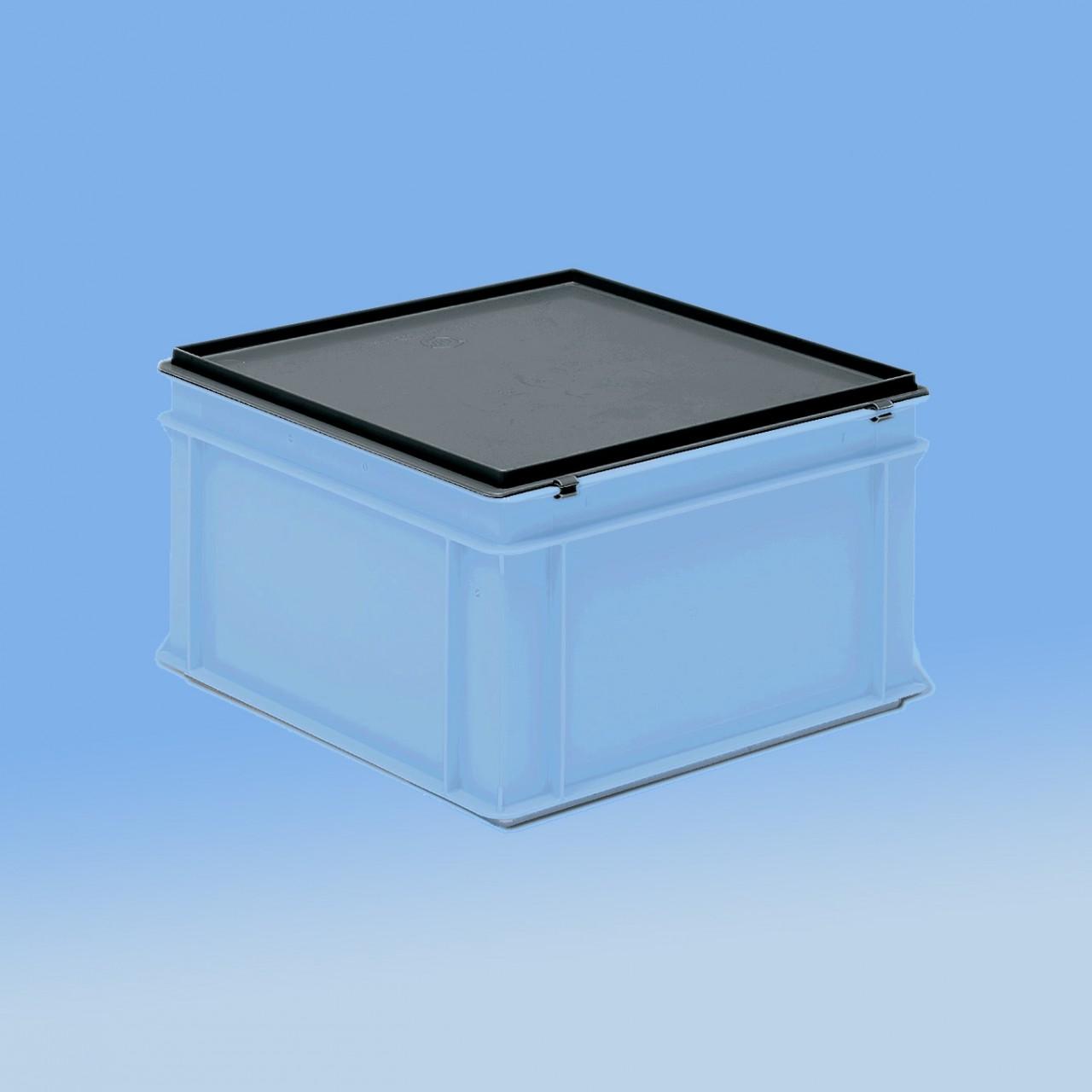 Deckel zu Rako-Behälter |400 x 400 mm, dunkelgrau