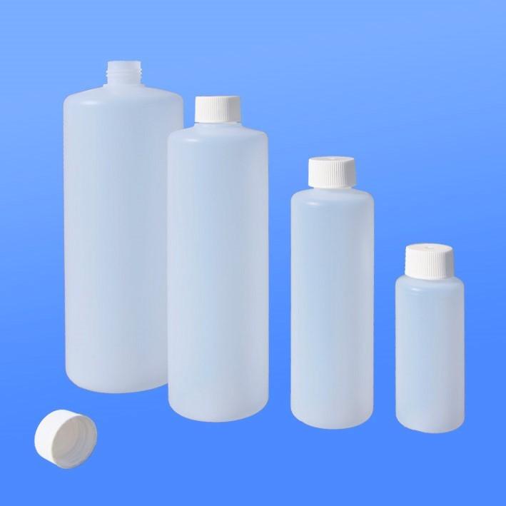 Rundflaschen 100 - 1000 ml  mit Schraub-Verschluss