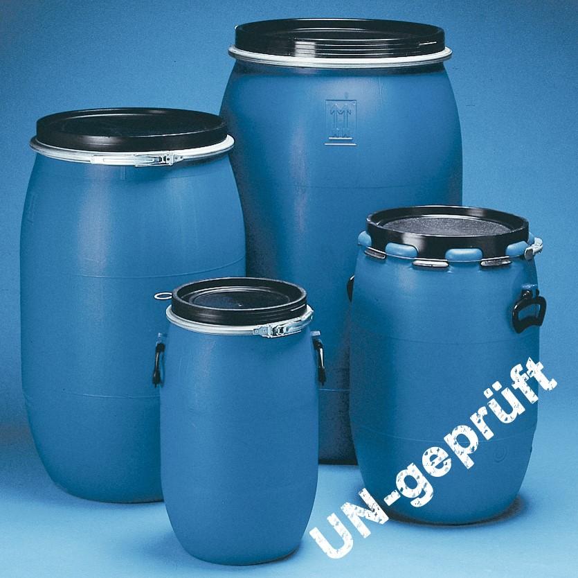 Weithals-Fässer BLUE |UN-Zulassung