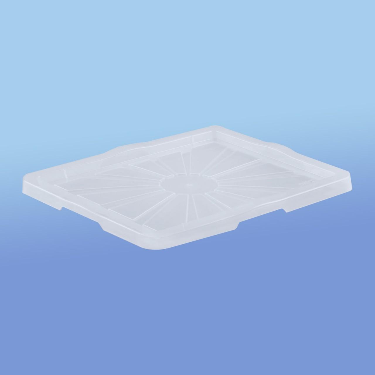 Deckel |zu Stapel- und Schachtelbehälter