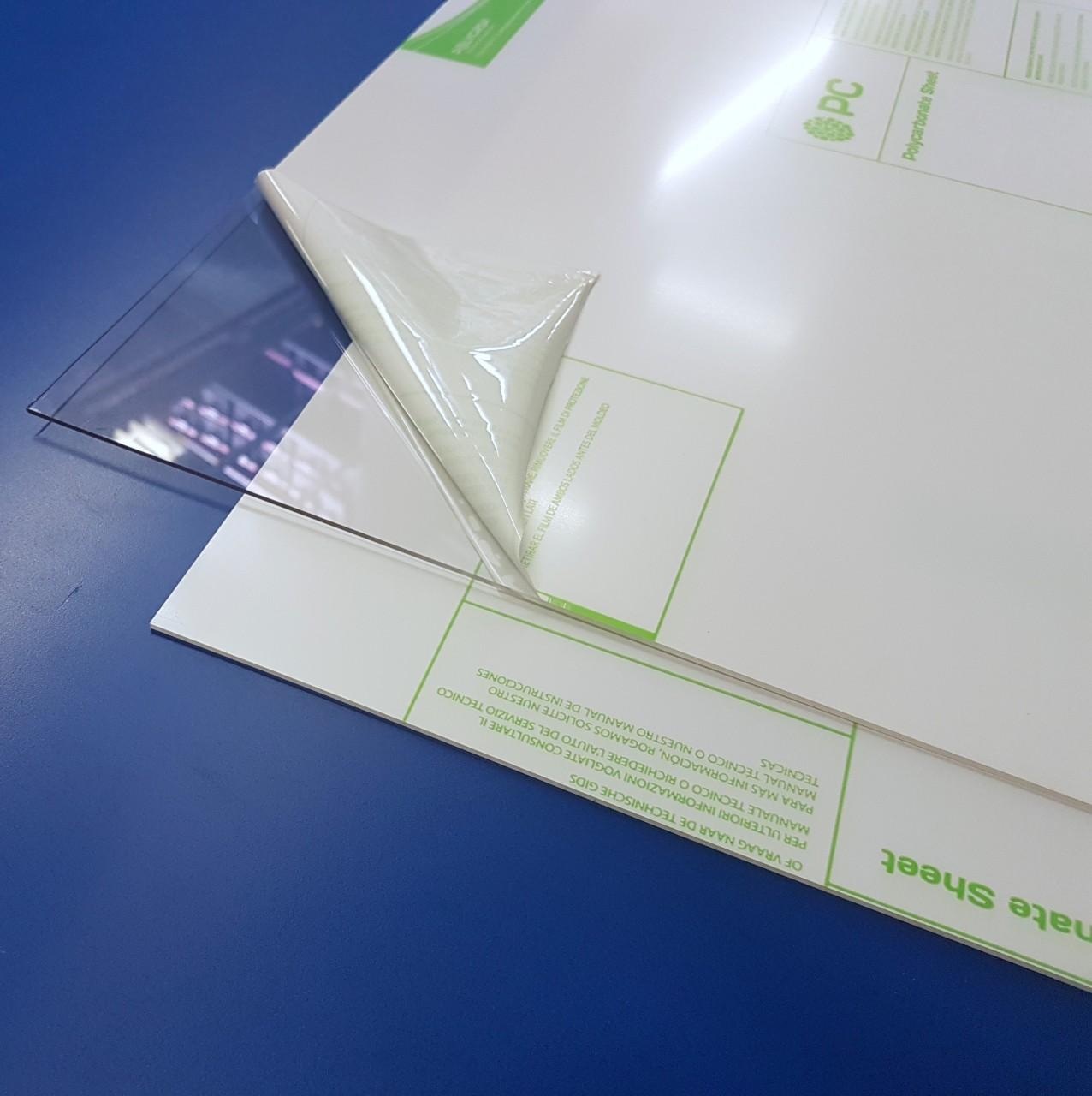 Polycarbonat-Platten  2 mm stark