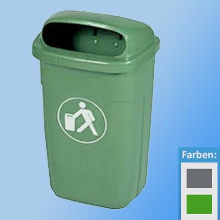 Abfall-Körbe 50 Ltr. |für Aussenmontage