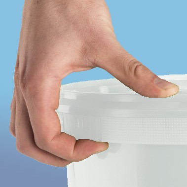 Deckel separat |zu Verpackungs-Eimer