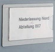 Etikettentasche zum Aufkleben