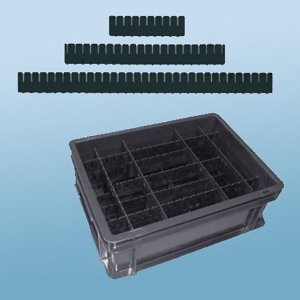 Rako-Trennleisten |schwarz