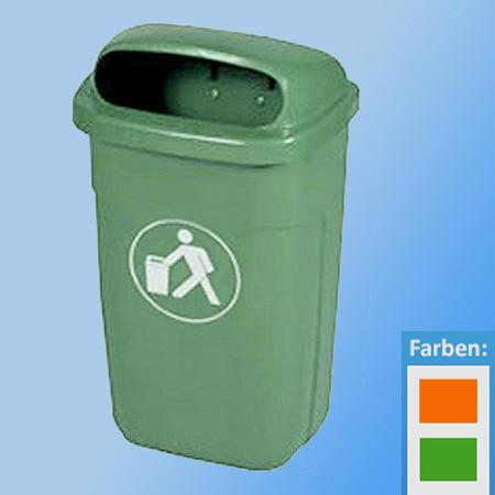 Abfall-Körbe 50 Ltr.  für Aussenmontage