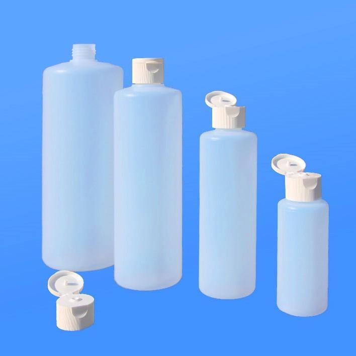 Rundflaschen 100 - 1000 ml |mit Klappscharnier-Verschluss