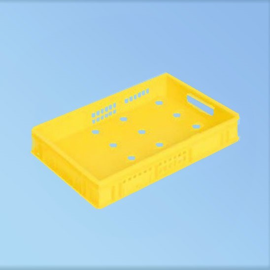 Harasse, gelb |600 x 400 x 100 mm