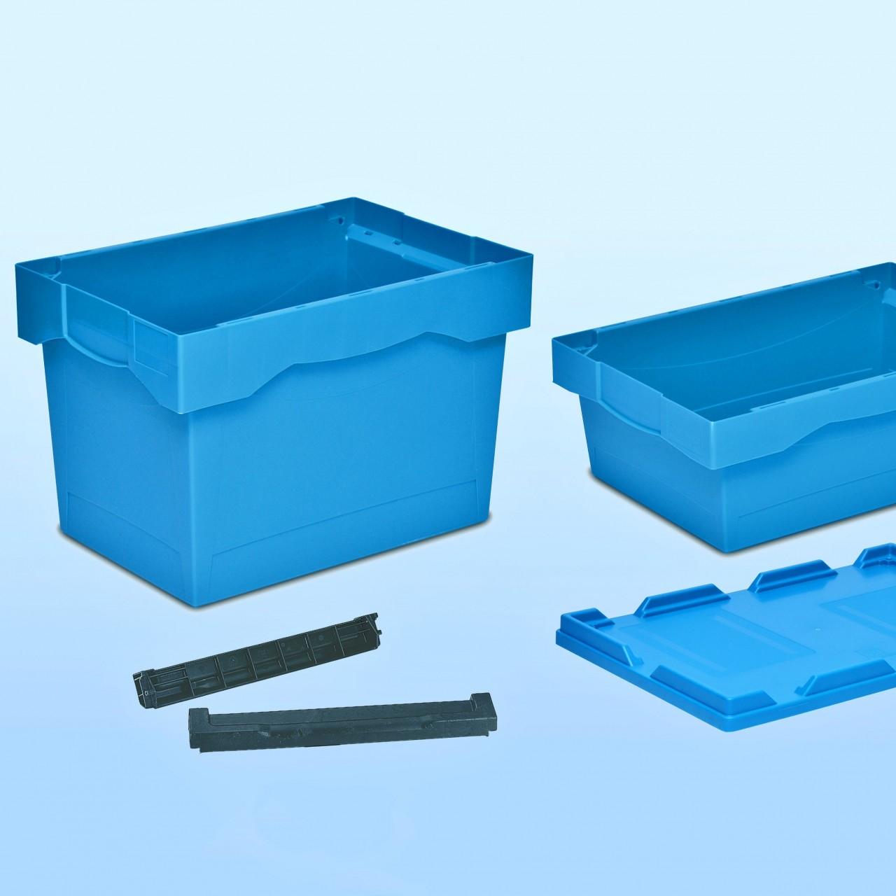 Delivery-Behälter, schachtelbar  600 x 400 x H mm