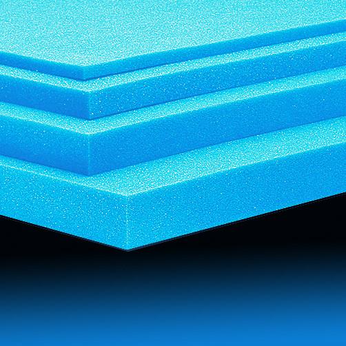 Polyäther-Schaumstoff |hellblau