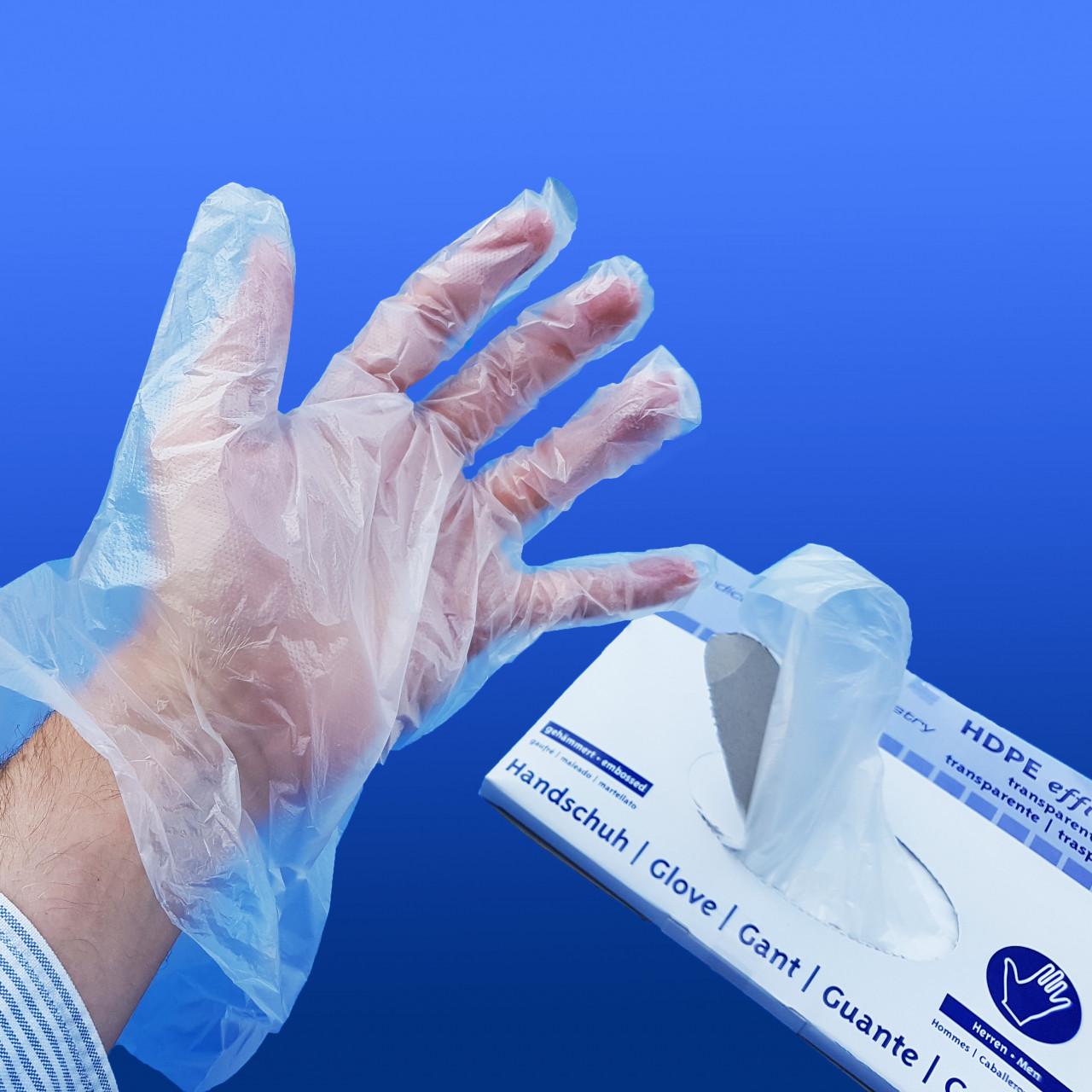 Einweg-Überzieh-Handschuhe |aus PE