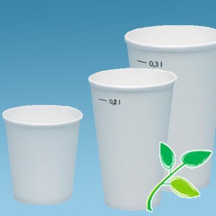 Kartonbecher |für Heiss- & Kaltgetränke (kompostierbar)