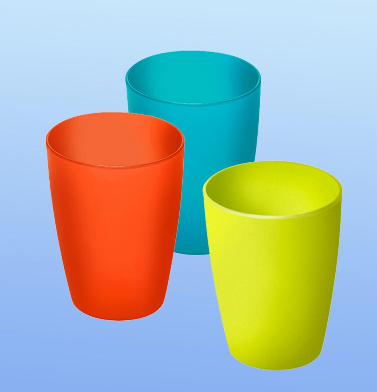 Trinkbecher farbig |2.5 dl