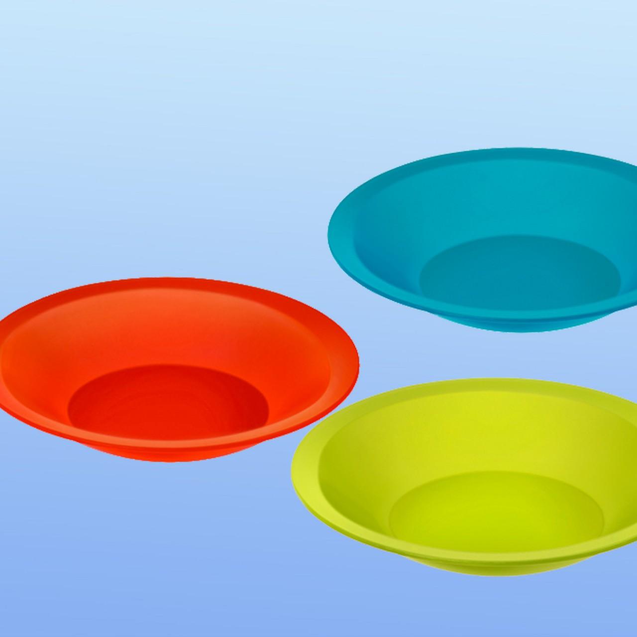 Suppen-Teller farbig |210 mm Ø, rund