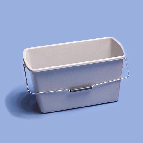 Rechteck-Eimer,12 Liter|415 x 220 x 200 mm