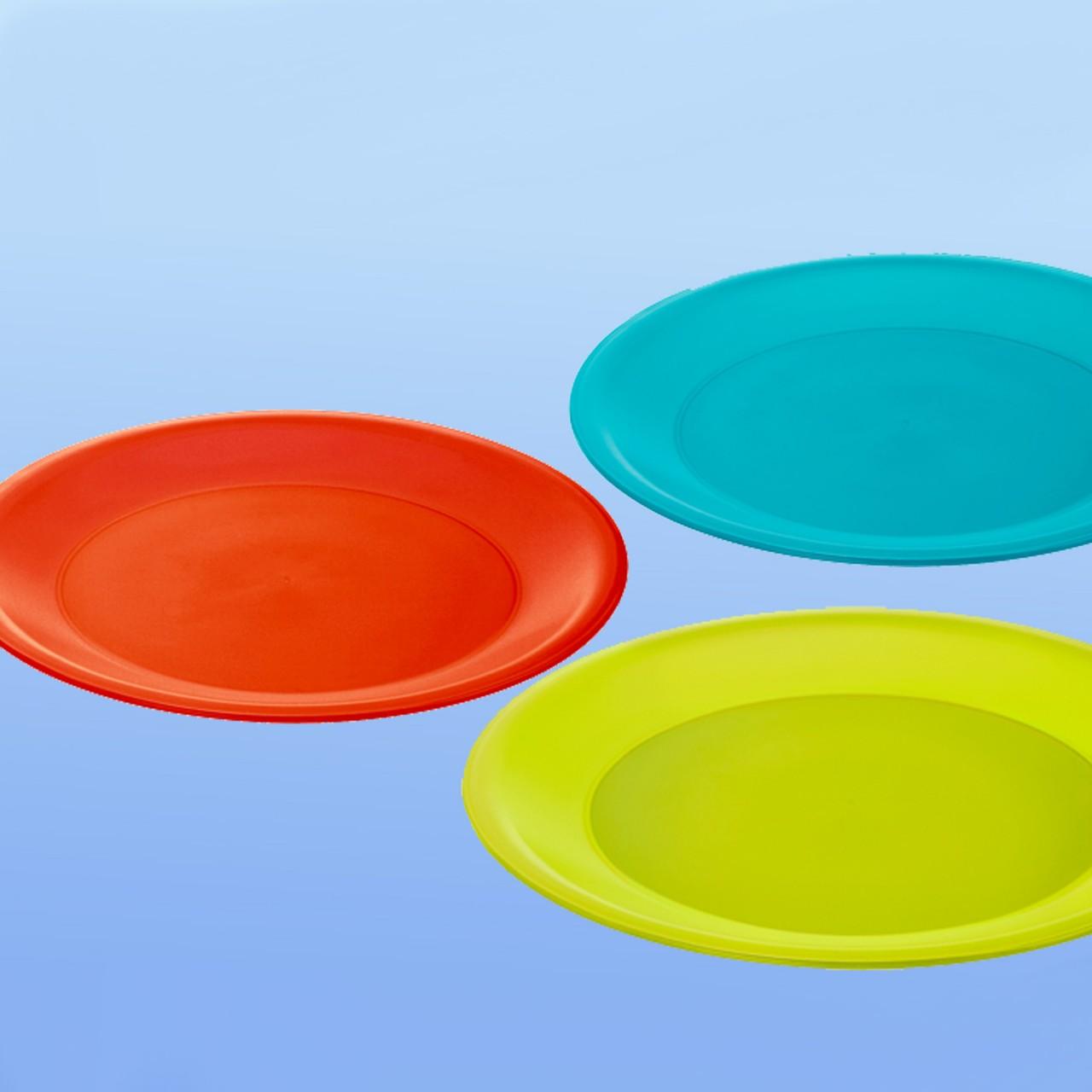 Teller farbig |250 mm Ø, rund