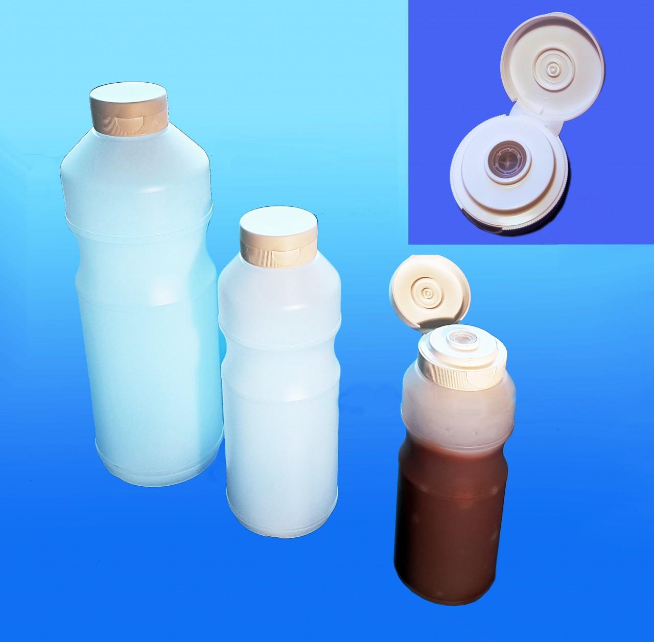 Dosierflaschen 250 / 500 / 1000 ml |mit Klappverschluss