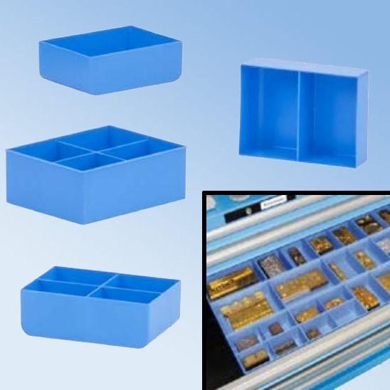 Kleinteile-Behälter für Schubladensysteme
