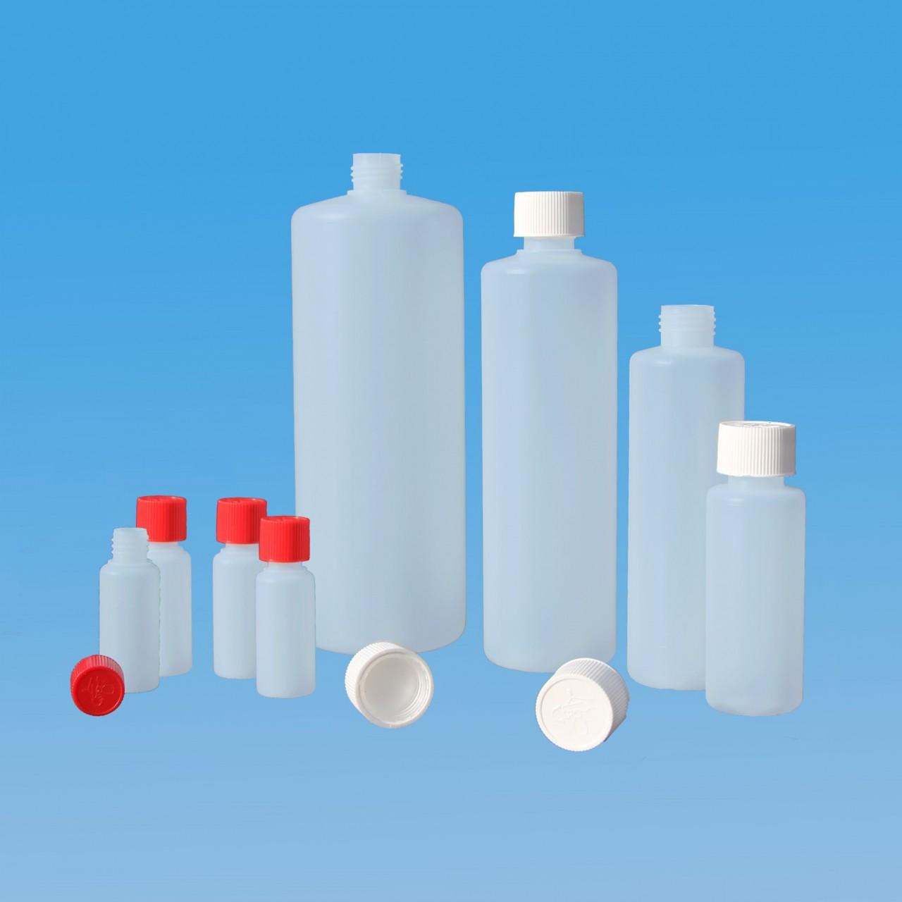 Rundflaschen 30 - 1000 ml |mit kindersicherem Verschluss